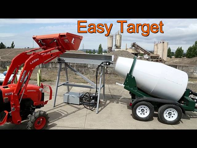 Mini Belt Loader for Portable Mixer Trailer