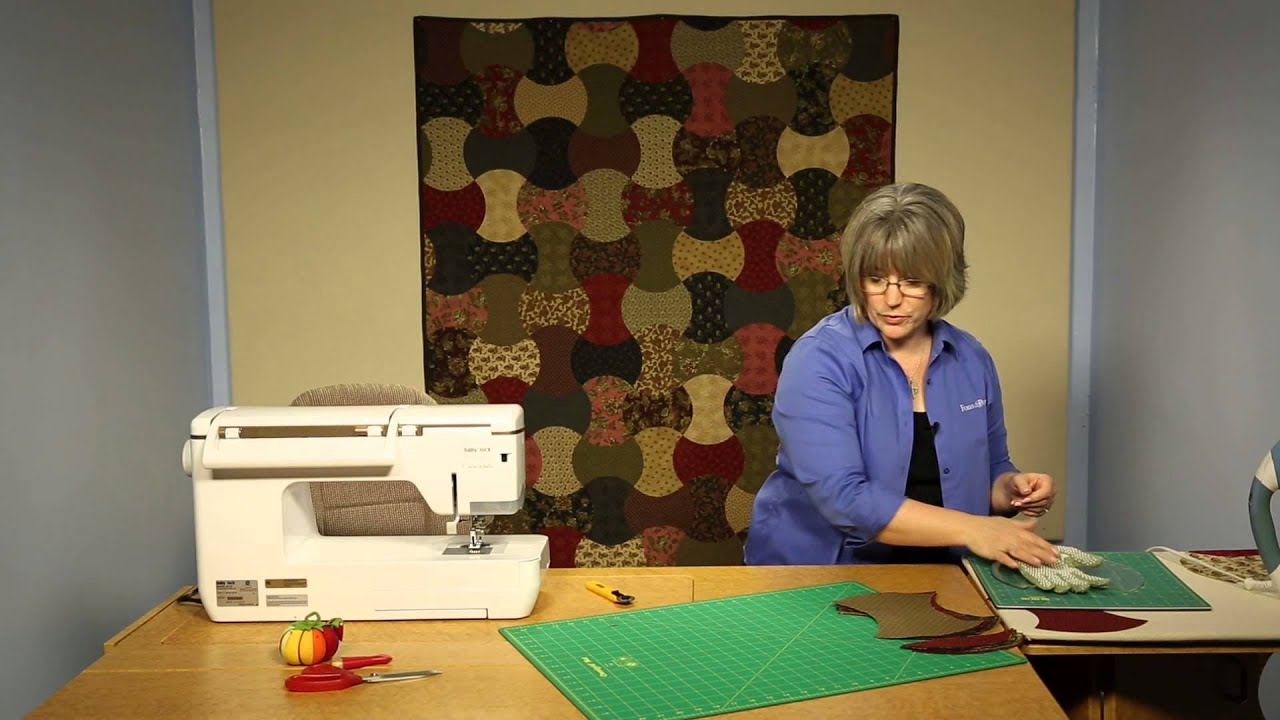 Sew Easy: How to Use the Apple Core Template - YouTube