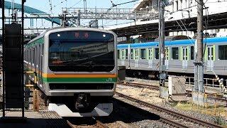 2019/04/16 【大宮入場】 E231系 U51編成 大宮駅   JR East: E231 Series U51 Set for Inspection at Omiya