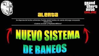 OLEADA DE BANEOS EN GTA 5 ONLINE! ROCKSTAR METE UN NUEVO SISTEMA DE SEGURIDAD EN ESTE ULTIMO DLC!