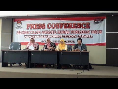 Seleksi Calon Anggota KPU DKI, Timsel Akan Serahkan 14 Nama ke KPU RI