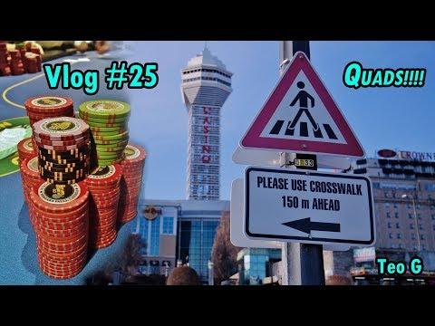 QUADS!!!! YES! at Niagara | 2/5 NL Holdem | Vlog #25