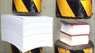 Hydraulic press vs5000 sheets and 2 dictionaries