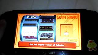 Namco Museum Battle Collection - Game List on PSP