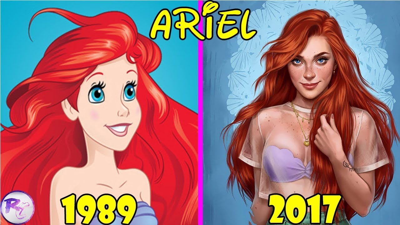 How Disney Princesses Would Look Like If They Lived In ...