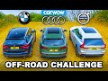 Bmw X3 V Audi Q5 V Volvo Xc60: Up Hill Drag Race & Which Is Best Off Road!