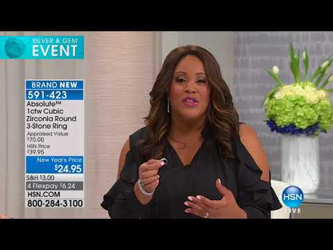 HSN | Absolute Brilliance Jewelry 01.30.2018 - 02 AM