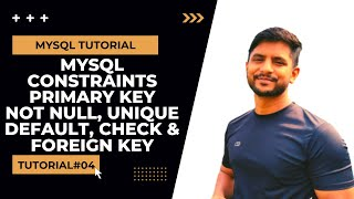 SQL Constraints | Primary Key | NOT NULL | Unique Key | Default | Check | Foreign Key | In Hindi