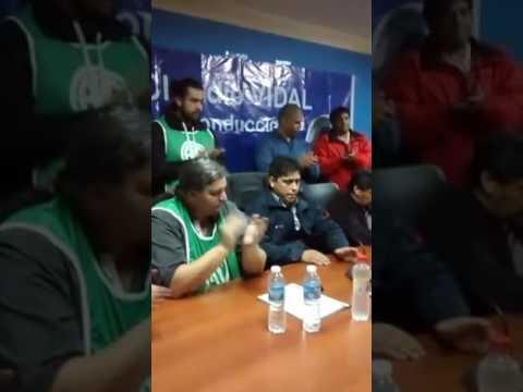 #26A #SantaCruz Conferencia de prensa: CONTUNDENTE JORNADA DE PARO PROVINCIAL DE ATE Y PETROLEROS