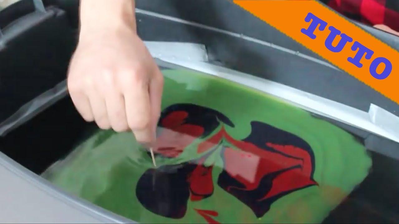 Transfert Dimage Par Leau Hydrographie Water Transfer Swirling