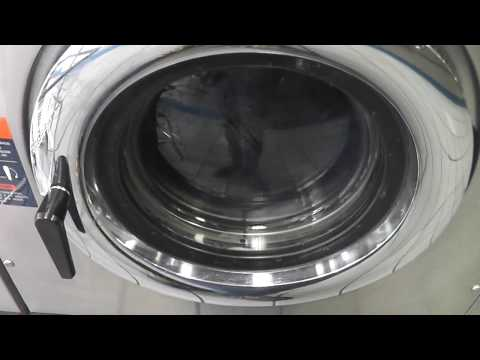 Dexter T-300 Double Loader Commercial Washing Machine - Hot Cycle