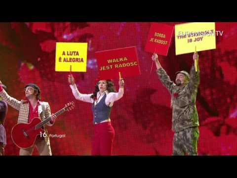 Homens Da Luta  Luta É Alegria Portugal  Live  2011 Eurovision  Contest 1st Semi Final