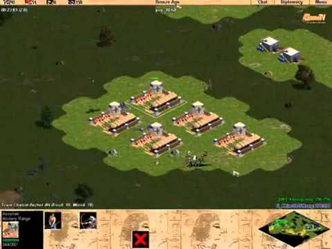 [AOE - Đế chế] ChimSeDiNang vs Khủng long [Solo - Random] Trận 2 - 4/3/2012