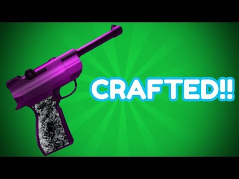 CRAFTING THE PURPLE LUGER!! (ROBLOX MMX)
