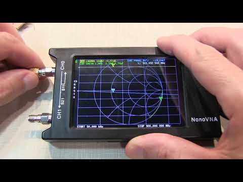 #317: NanoVNA Port Extension using the Electrical Delay setting