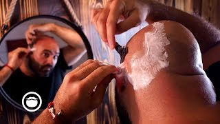 How to Wet Shave Your Head at Home