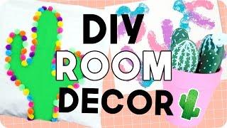 DIY CACTUS DECOR! Summer Room Decor 2017