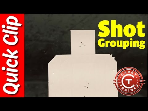 Shot Grouping (Quick Clip)