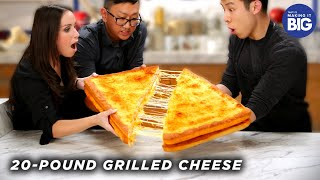 I_Made_A_Giant_20-Pound_Grilled_Cheese_For_HellthyJunkFood_• Tasty