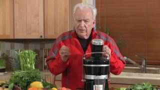 Jay Kordich Makes Green Juice Combination