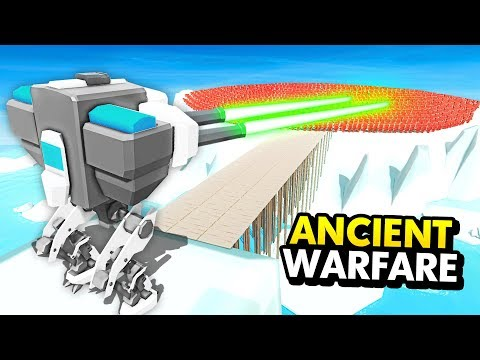 NEW MECH ROBOT vs HUGE FUTURE ARMY IN Ancient Warfare 3 (Ancient Warfare 3 Funny Gameplay)