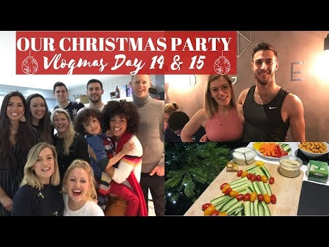 OUR CHRISTMAS PARTY + A WORLD RECORD ATTEMPT! | VLOGMAS DAY 14 & 15