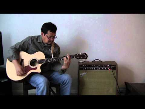 All My Life by America - Guitar Backing Track & Guitar chords (Taylor 314-CE) by Marlo Aquino