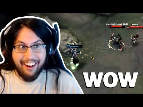 Imaqtpie Reacts to This Unbelievable Play | Pobelter Clean 1v2 Outplay | Tyler1 | LoL Funny Moments