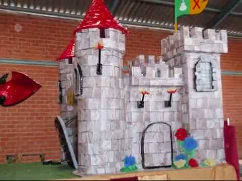 Yunclillos carroza medieval manualidades de carton youtube - Manualidades castillo medieval ...