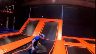 Have A Jump Experience In Free Jumping Area Inside Trampoline Park