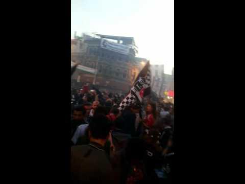 Barbaros meydaninda Beşiktaş kutlamaları #Sampiyon #Besiktas