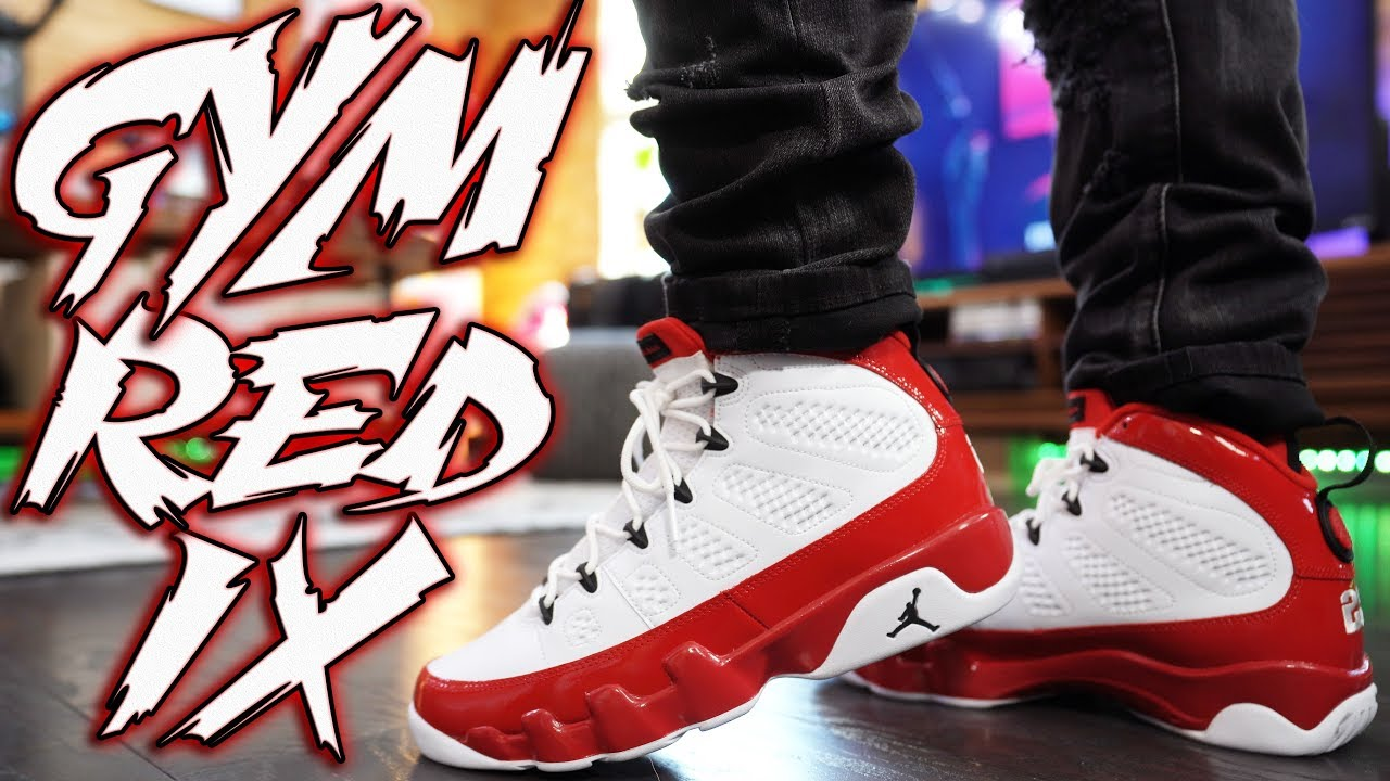 red and white retro 9s cheap online