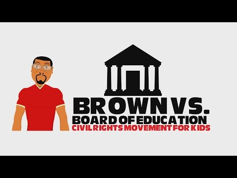Civil Rights Movement for Kids: Brown vs Board of Education (Black History)