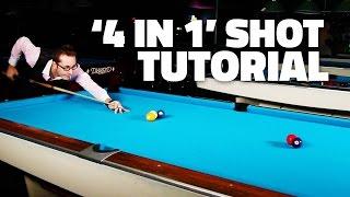 Billiards Tutorial - The 4-IN-1 SHOT