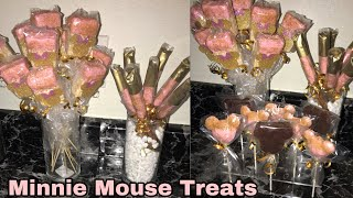 Minnie Mouse Party Theme Treats!