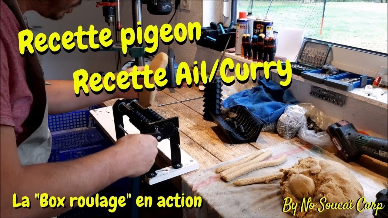 """Recette pigeon & recette ail/curry à la """"box roulage"""""""