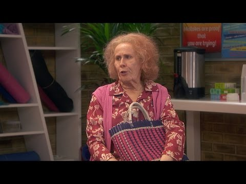 Nan annoys the anger management group - Catherine Tate's Nan: Episode 1 Preview - BBC One Christmas