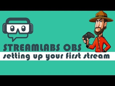 StreamLabs OBS | Setting Up Your First Stream Overlay