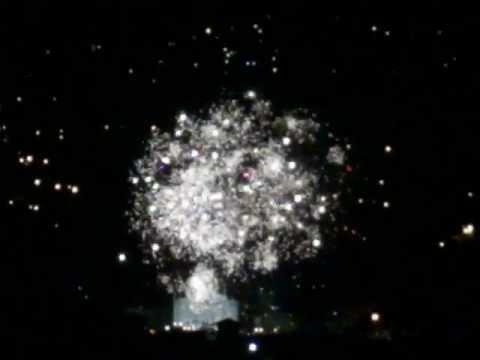 AWESOME Fuegos Artificiales / Fireworks Show - ESCAZU - San Rafael Church - Costa Rica