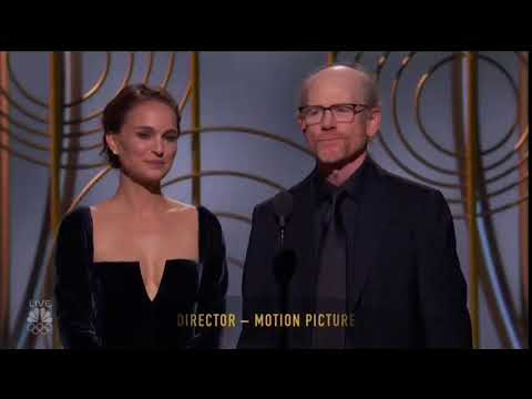 """Natalie Portman shades the """"All Male"""" directors category #GoldenGlobes"""