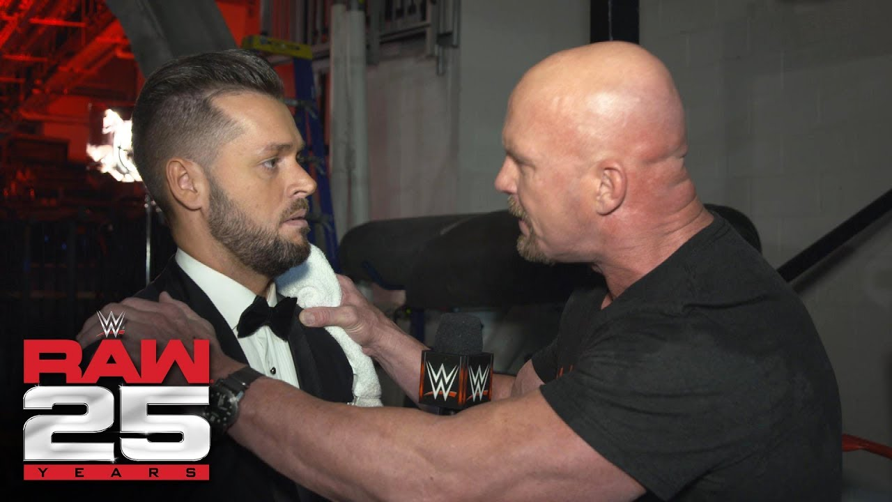 Stone Cold Steve Austin Cuts Backstage Promo After Raw 25 Video