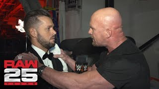 """Stone Cold"" Steve Austin still loves to raise hell on Mr. McMahon: Raw 25 Fallout, Jan. 22, 2018"