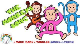 Monkeys Nursery Rhymes MyVoxSongs