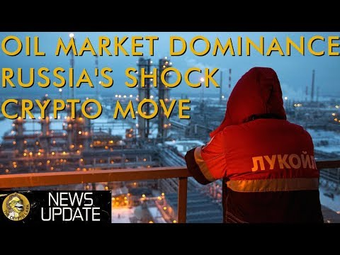 Russia Makes Big Move Via Oil Backed Cryptocurrency