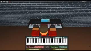 Ievan Polkka/Eva's Polka - Things of Beauty by: Loituma on a ROBLOX piano. [Iuliang's Easy Sheet]