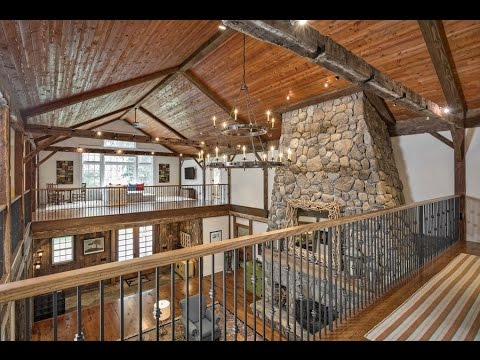 Expansive, Custom-Crafted Post & Beam Farmhouse - 600 Wellington Drive, Fairfield, CT