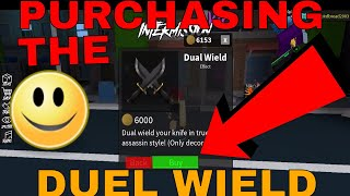 PURCHASING THE DUEL WIELD - (ROBLOX ASSASSIN A HUGE PURCHASE)