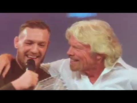 Conor McGregor FULL INTERVIEW with Richard Branson: Talks UFC Negotiations, Business & more!