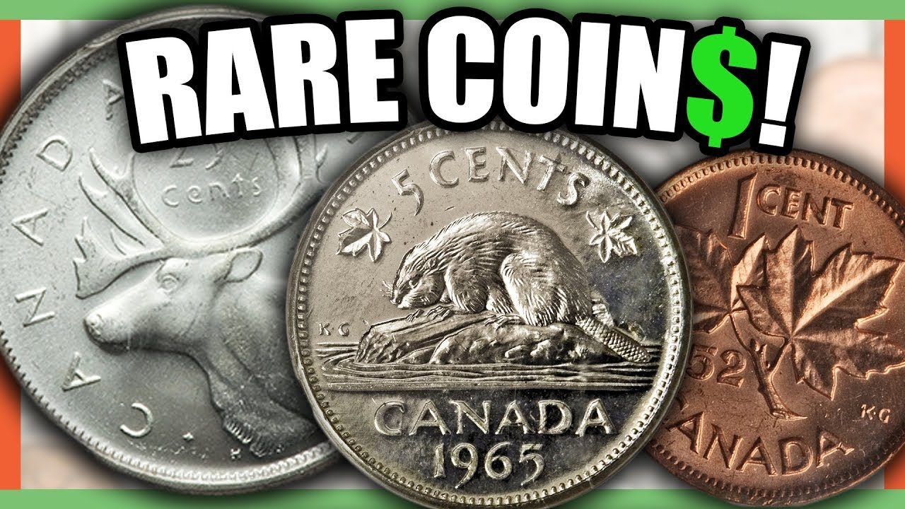 10 Extremely Valuable Canadian Coins Worth Money Rare To Look For