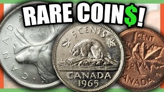 10 EXTREMELY VALUABLE CANADIAN COINS WORTH MONEY - RARE CANADIAN COINS TO LOOK FOR!!